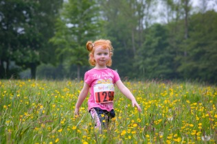 NO FEE PICTURES 28/5/16 Catelyn Martin, age 3, Tallaght at the Irish Kidney Association's Run For Life in support of Organ Donation at Corkagh Park in Dublin. Pictures:Arthur Carron