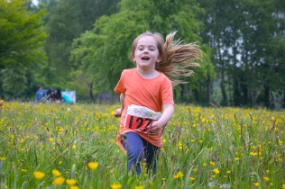 NO FEE PICTURES 28/5/16 SaoirsePendlebury, age 4, Balbriggan at the Irish Kidney Association's Run For Life in support of Organ Donation at Corkagh Park in Dublin. Pictures:Arthur Carron
