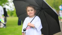 ***NO FEE PIC *** 20/05/2017 Isabelle Keogh from Melton Donegal during the Irish Kidney Association's Run for a Life family fun run which will take place this Saturday 20th May at Corkagh Park, Clondalkin, Dublin. The IKA's Run for a Life is a charity fundraiser and celebrates the 'gift of life' and aims to raise awareness about the vital importance of organ donation and transplantation. Now in its 9th year 'Run for a Life' is open to people of all ages with the option of walking, jogging or running competitively in either a chip timed 2.5km, 5km or 10km distance. Based on last year's attendance over 500 people are expected to register for the event. For more information on the event visit website www.runforalife.ie For organ donor cards Freetext DONOR to 50050 or visit website www.ika.ie/card You can now download the IKA's new digital donor card by visiting www.donor.ie on your smartphone. Your wishes to be an organ donor can also be included on the new format driving licence which is represented by Code 115. Photo: Arthur Carron