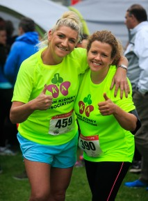 ***NO FEE PIC *** 20/05/2017 (L to R) Tara Nolan from Greystones & Suzanne Redmond from Templeogue during the Irish Kidney Association's Run for a Life family fun run which will take place this Saturday 20th May at Corkagh Park, Clondalkin, Dublin. The IKA's Run for a Life is a charity fundraiser and celebrates the 'gift of life' and aims to raise awareness about the vital importance of organ donation and transplantation. Now in its 9th year 'Run for a Life' is open to people of all ages with the option of walking, jogging or running competitively in either a chip timed 2.5km, 5km or 10km distance. Based on last year's attendance over 500 people are expected to register for the event. For more information on the event visit website www.runforalife.ie For organ donor cards Freetext DONOR to 50050 or visit website www.ika.ie/card You can now download the IKA's new digital donor card by visiting www.donor.ie on your smartphone. Your wishes to be an organ donor can also be included on the new format driving licence which is represented by Code 115. Photo: Arthur Carron