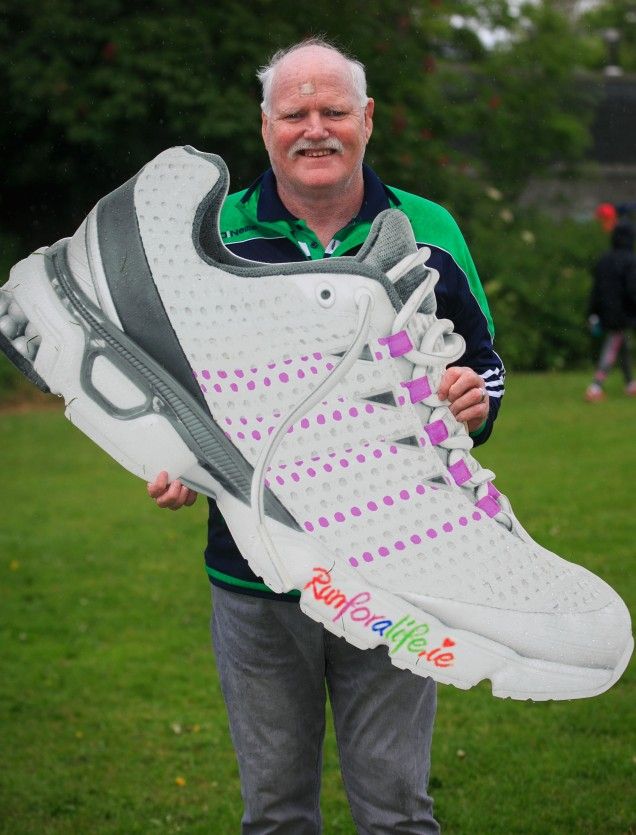 ***NO FEE PIC *** 20/05/2017 Harry Ward from Baldoyle during the Irish Kidney Association's Run for a Life family fun run which will take place this Saturday 20th May at Corkagh Park, Clondalkin, Dublin. The IKA's Run for a Life is a charity fundraiser and celebrates the 'gift of life' and aims to raise awareness about the vital importance of organ donation and transplantation. Now in its 9th year 'Run for a Life' is open to people of all ages with the option of walking, jogging or running competitively in either a chip timed 2.5km, 5km or 10km distance. Based on last year's attendance over 500 people are expected to register for the event. For more information on the event visit website www.runforalife.ie For organ donor cards Freetext DONOR to 50050 or visit website www.ika.ie/card You can now download the IKA's new digital donor card by visiting www.donor.ie on your smartphone. Your wishes to be an organ donor can also be included on the new format driving licence which is represented by Code 115. Photo: Arthur Carron