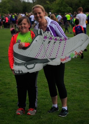 ***NO FEE PIC *** 20/05/2017 Nevan Curran 9 & Edel Curran all from Kildare during the Irish Kidney Association's Run for a Life family fun run which will take place this Saturday 20th May at Corkagh Park, Clondalkin, Dublin. The IKA's Run for a Life is a charity fundraiser and celebrates the 'gift of life' and aims to raise awareness about the vital importance of organ donation and transplantation. Now in its 9th year 'Run for a Life' is open to people of all ages with the option of walking, jogging or running competitively in either a chip timed 2.5km, 5km or 10km distance. Based on last year's attendance over 500 people are expected to register for the event. For more information on the event visit website www.runforalife.ie For organ donor cards Freetext DONOR to 50050 or visit website www.ika.ie/card You can now download the IKA's new digital donor card by visiting www.donor.ie on your smartphone. Your wishes to be an organ donor can also be included on the new format driving licence which is represented by Code 115. Photo: Arthur Carron