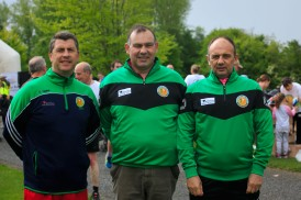 ***NO FEE PIC *** 20/05/2017 Mike Keohane from Cork, Michael Kiely from mitchelstown & Pat O'Sullivan from Mallow during the Irish Kidney Association's Run for a Life family fun run which will take place this Saturday 20th May at Corkagh Park, Clondalkin, Dublin. The IKA's Run for a Life is a charity fundraiser and celebrates the 'gift of life' and aims to raise awareness about the vital importance of organ donation and transplantation. Now in its 9th year 'Run for a Life' is open to people of all ages with the option of walking, jogging or running competitively in either a chip timed 2.5km, 5km or 10km distance. Based on last year's attendance over 500 people are expected to register for the event. For more information on the event visit website www.runforalife.ie For organ donor cards Freetext DONOR to 50050 or visit website www.ika.ie/card You can now download the IKA's new digital donor card by visiting www.donor.ie on your smartphone. Your wishes to be an organ donor can also be included on the new format driving licence which is represented by Code 115. Photo: Arthur Carron