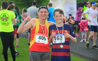 ***NO FEE PIC *** 20/05/2017 Sharon Tighe 12 & Jamie Tighe from Kingswood during the Irish Kidney Association's Run for a Life family fun run which will take place this Saturday 20th May at Corkagh Park, Clondalkin, Dublin. The IKA's Run for a Life is a charity fundraiser and celebrates the 'gift of life' and aims to raise awareness about the vital importance of organ donation and transplantation. Now in its 9th year 'Run for a Life' is open to people of all ages with the option of walking, jogging or running competitively in either a chip timed 2.5km, 5km or 10km distance. Based on last year's attendance over 500 people are expected to register for the event. For more information on the event visit website www.runforalife.ie For organ donor cards Freetext DONOR to 50050 or visit website www.ika.ie/card You can now download the IKA's new digital donor card by visiting www.donor.ie on your smartphone. Your wishes to be an organ donor can also be included on the new format driving licence which is represented by Code 115. Photo: Arthur Carron