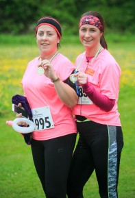 ***NO FEE PIC *** 20/05/2017 Michelle Metcalf from Tallaght & Helen Dolan from Tallaght during the Irish Kidney Association's Run for a Life family fun run which will take place this Saturday 20th May at Corkagh Park, Clondalkin, Dublin. The IKA's Run for a Life is a charity fundraiser and celebrates the 'gift of life' and aims to raise awareness about the vital importance of organ donation and transplantation. Now in its 9th year 'Run for a Life' is open to people of all ages with the option of walking, jogging or running competitively in either a chip timed 2.5km, 5km or 10km distance. Based on last year's attendance over 500 people are expected to register for the event. For more information on the event visit website www.runforalife.ie For organ donor cards Freetext DONOR to 50050 or visit website www.ika.ie/card You can now download the IKA's new digital donor card by visiting www.donor.ie on your smartphone. Your wishes to be an organ donor can also be included on the new format driving licence which is represented by Code 115. Photo: Arthur Carron
