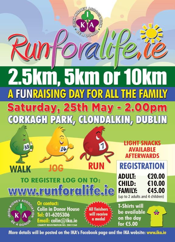 Run For a Life | Promoting organ donation, raising funds for the